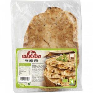 comprar Pan Hindú Naan Bio Natursoy online supermercado ecologico en barcelona frooty