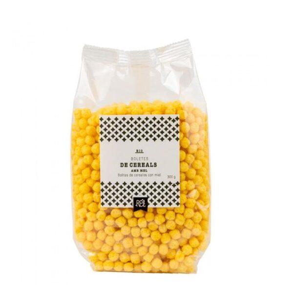 comprar Bolitas de cereales con miel Bio Rél, 300 gramos online supermercado ecologico en barcelona frooty