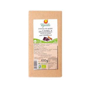 comprar chocolate bio negro con canela vegetalia online supermercado ecologico en barcelona frooty