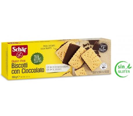 comprar galletas con chocolate sin gluten schar 150 grs online supermercado ecologico en barcelona frooty