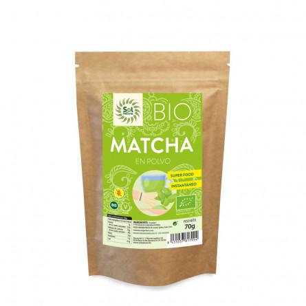 comprar te matcha en polvo bio sol natural 70g online supermercado ecologico en barcelona frooty