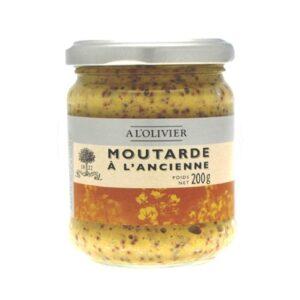 comprar Mostaza a la antigua A L'OLIVIER gourmet online supermercado ecologico en barcelona frooty