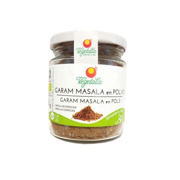 comprar Gran Masala en Polvo, Vegetalia, 80g online supermercado ecologico en barcelona frooty