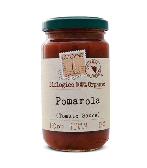 Salsa de tomate Il Cipressino Biológico y 100% Orgánico. Producido en Italia