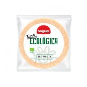 Tortilla de maíz ecológica Nagual