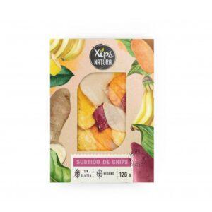 comprar Surtido de chips vegano y sin gluten XIPS NATURA online supermercado ecologico en barcelona frooty