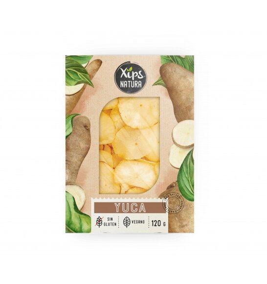 Yuca, producto vegano y sin gluten XIPS NATURA