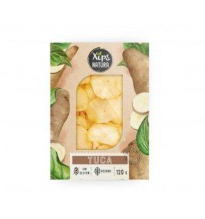 comprar Yuca, producto vegano y sin gluten XIPS NATURA online supermercado ecologico en barcelona frooty