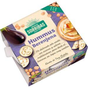 Comprar hummus de berenjena sorribas online supermercado ecologico barcelona frooty