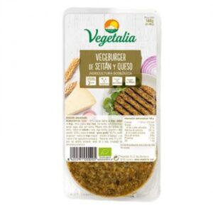 Comprar hamburguesa de seitan y queso vegetalia online supermercado ecologico barcelona frooty