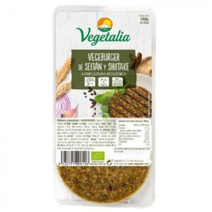 Comprar hamburguesa de seitán y shitake vegetalia online supermercado ecologico barcelona frooty