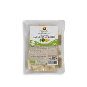 Comprar raviolis de alachofa y queso vegetalia online supermercado ecologico barcelona frooty