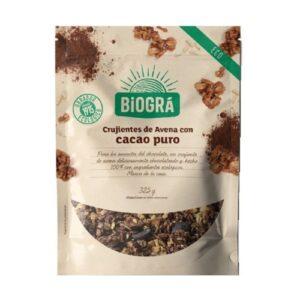 comprar Copos Crujientes avena con cacao puro biogra online supermercado ecologico