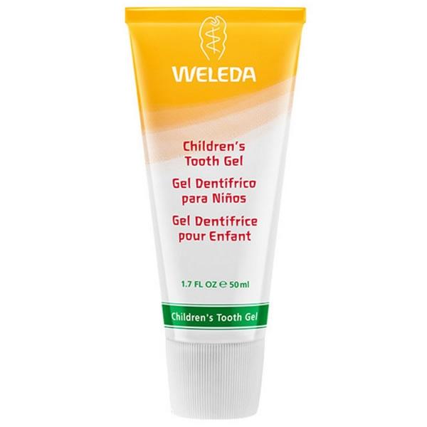 comprar gel dentifrico niños 50ml weleda online supermercado ecologico en barcelona frooty