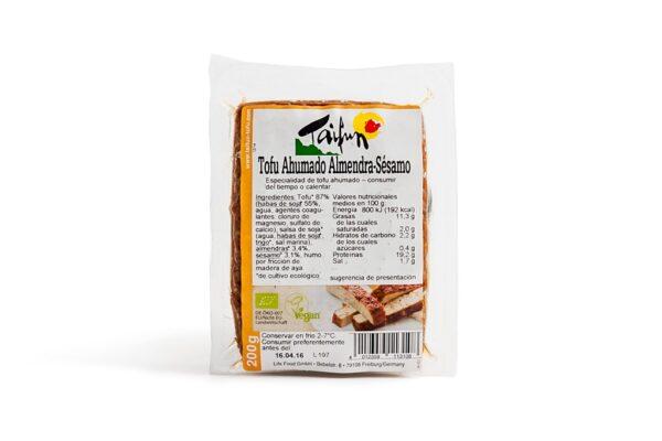 Comprar tofu ahumado de almendra y sesamo taifun online supermercado ecologico barcelona frooty
