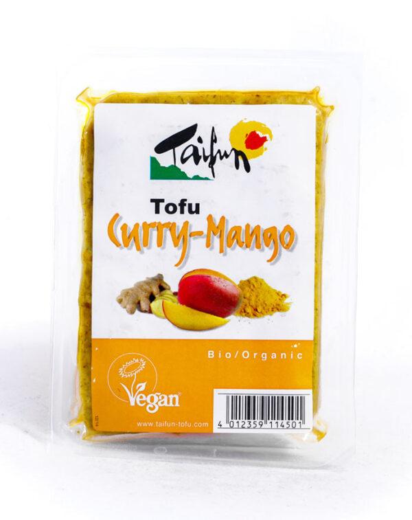 Comprar tofu de curry y mango vegano taifun online supermercado ecologico barcelona frooty
