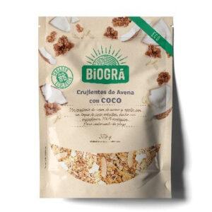 comprar Copos Crujientes avena con coco biogra online supermercado ecologico