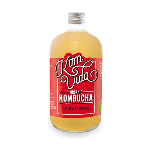 comprar kombucha-komvida-zanahoria-curcuma-berryvida-750 online supermercado ecologico en barcelona frooty