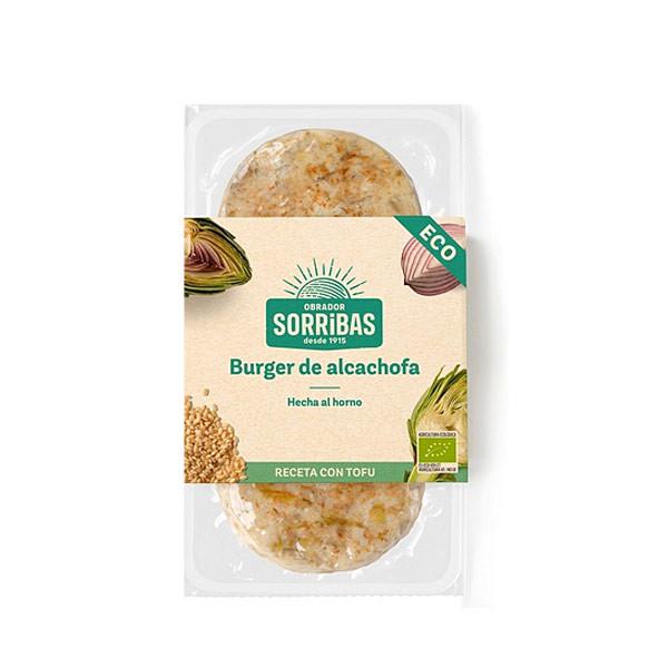 Comprar hamburguesa alcachofa baja temperatura sorribas online supermercado ecologico barcelona frooty