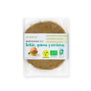 Comprar seitán quinoa y verduras sabbio online supermercado ecologico vegano barcelona frooty