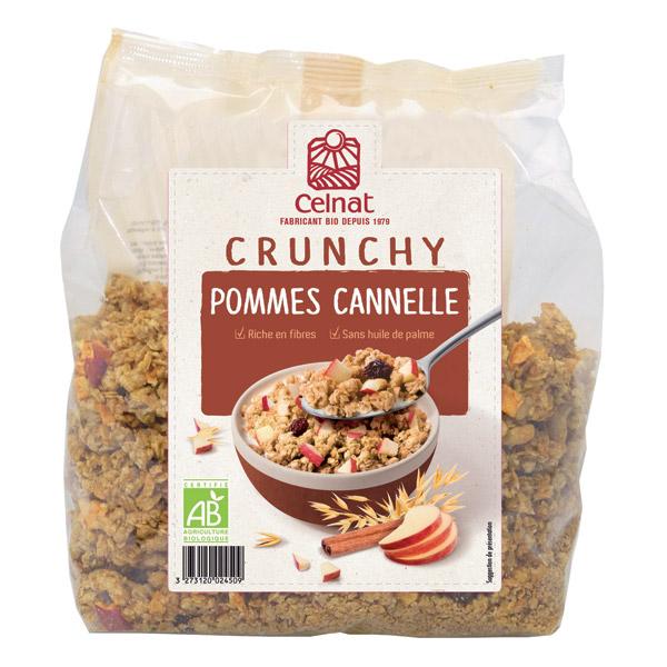 comprar Muesli Crunchy de manzana y canela Celnat