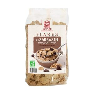 Flakes de trigo sarraceno con chocolate negro Celnat