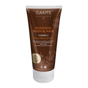 comprar champu gel de ducha cafeina acai bio sante online supermercado ecologico en barcelona frooty