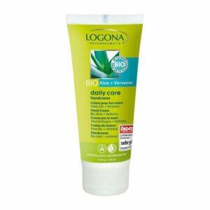 comprar crema de manos daily care aloe verbena logona 100ml online supermercado ecologico en barcelona frooty