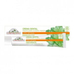 comprar crema dental dentifrico purificante aliente fresco 75ml corpore sano online supermercado ecologico en barcelona frooty