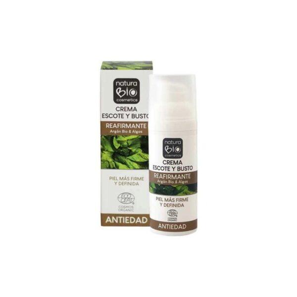 comprar crema escote y busto reafirmante naturabio cosmetics 50ml online supermercado ecologico en barcelona frooty
