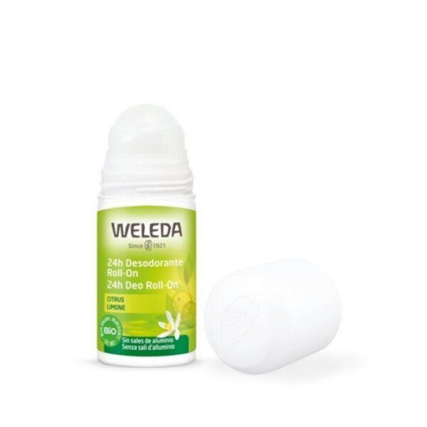 comprar desodorante citrus roll on weleda online supermercado ecologico en barcelona frooty