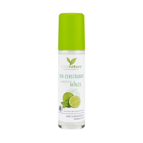 comprar desodorante en spray menta y lima para todo tipo de piel cosnature online supermercado ecologico en barcelona frooty