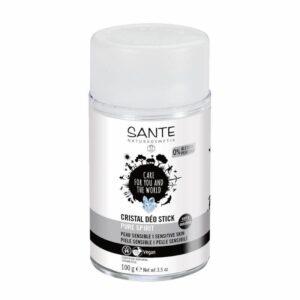 comprar desodorante mineral pure spirit sante 100g piel sensible online supermercado ecologico en barcelona frooty