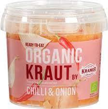 comprar chucrut-chili-cebolla-bio-kramer-500g online supermercado ecologico en barcelona frooty