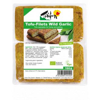 comprar tofu filetes de ajo silvestre taifun online supermercado ecologico en barcelona frooty