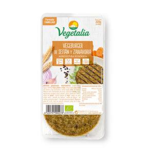 Comprar hamburguesa de seitan y zanahoria vegetalia online supermercado ecologico barcelona frooty