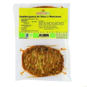 Comprar hamburguesa de setas y manzanas sin gluten mallorca bio online supermercado ecologico barcelona frooty