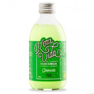 comprar kombucha-te-verde-komvida-250-ml-bio online supermercado ecologico en barcelona frooty