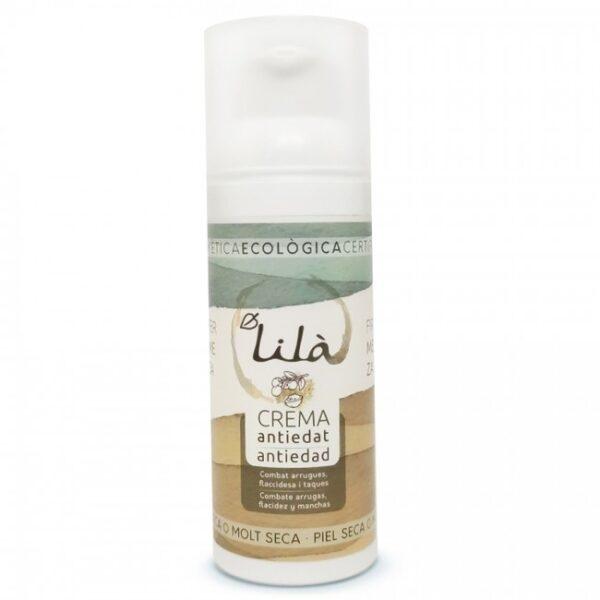 comprar crema antiedad piel seca lila 50ml online supermercado ecologico en barcelona frooty
