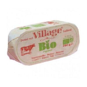 comprar mantequilla con sal salada village online supermercado ecologico en barcelona frooty