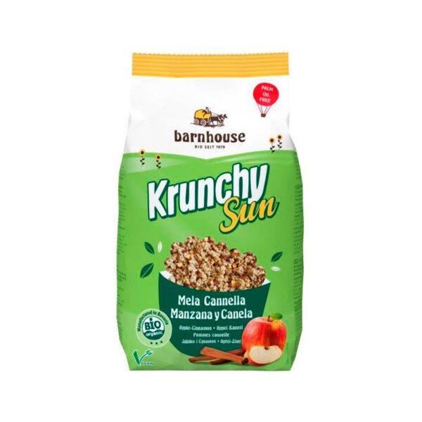 comprar Muesli Krunchy de manzana y canela Bio Barnhouse online supermercado ecologico barcelona
