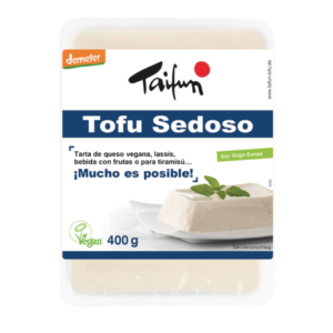 Comprar tofu sedoso taifun demeter online supermercado ecologico vegano barcelona frooty