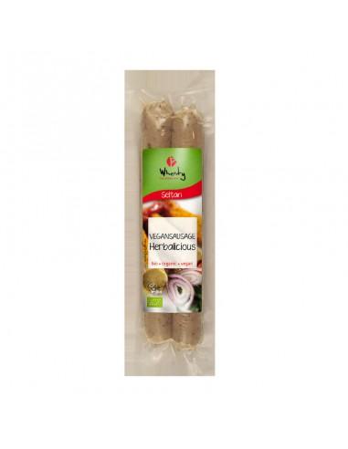 comprar salchichas-de-seitan-herbalicious-bio online supermercado ecologico en barcelona frooty