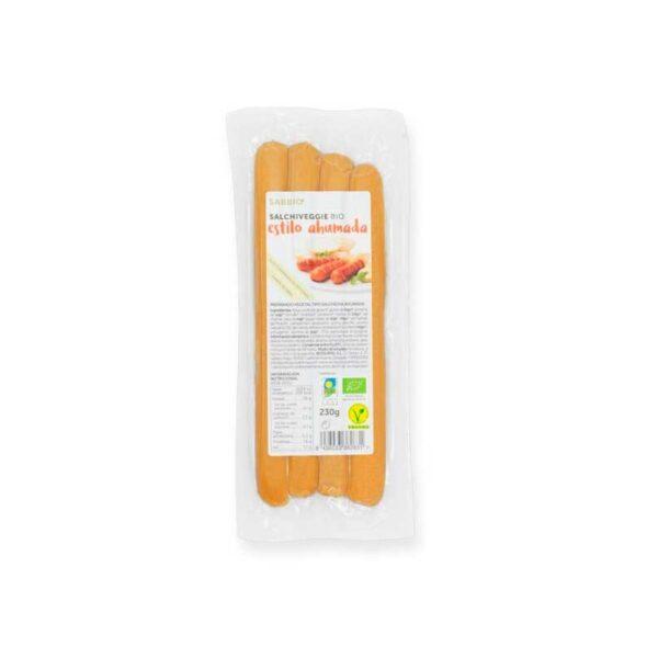 comprar salchichas estilo ahumada sabbio-bio online supermercado ecologico en barcelona frooty