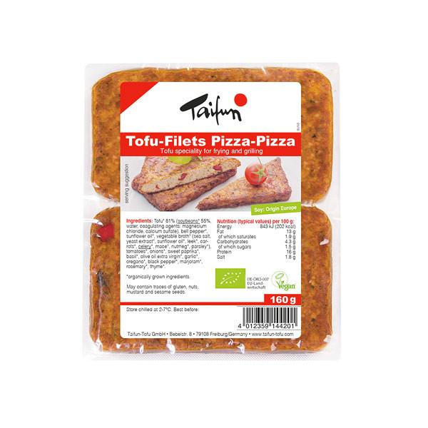 Comprar tofu filetes de pizza taifun online supermercado ecologico barcelona frooty